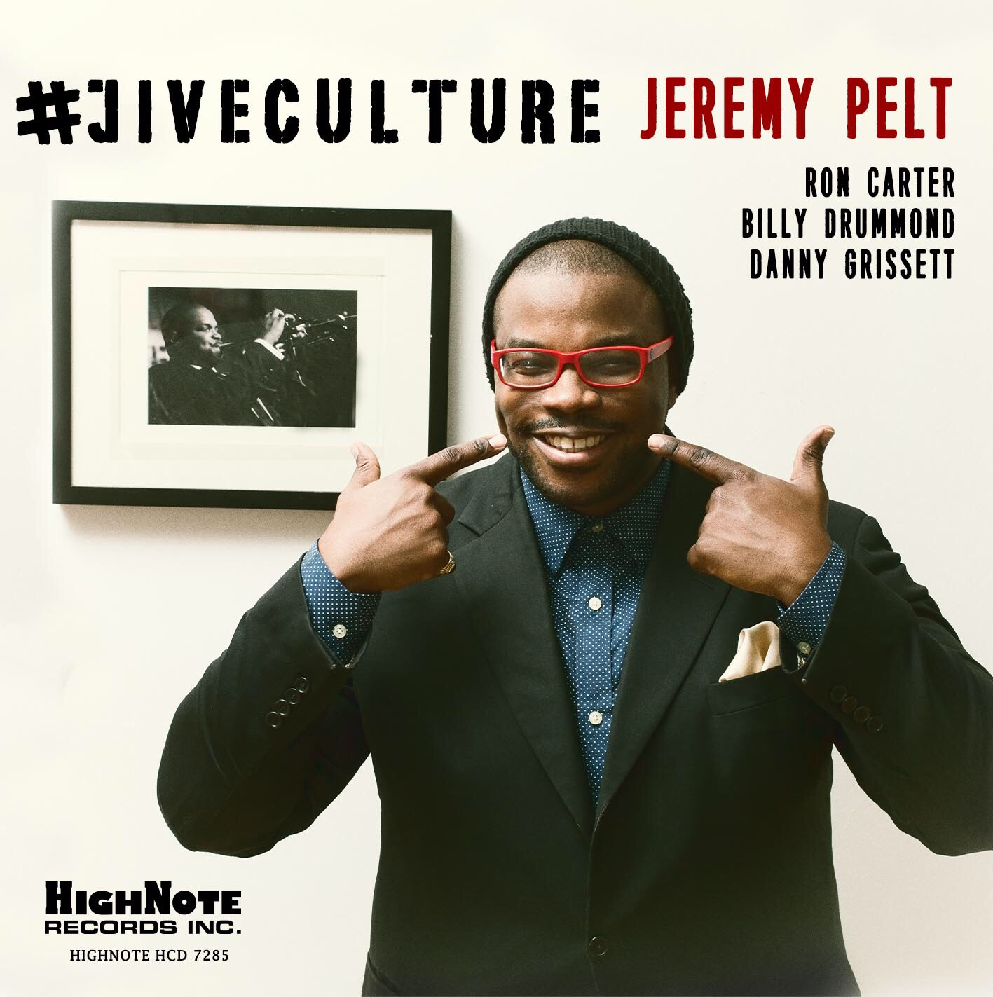 Jeremy Pelt, trumpeter - Jive Culture, CD Cover
